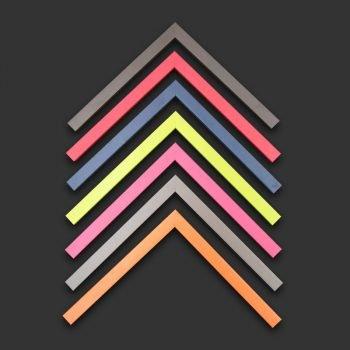Enmarcación marcos colores
