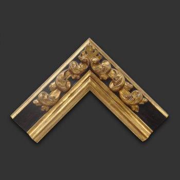Marco artesano oro