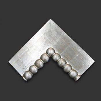 Marco artesano bolas relieve