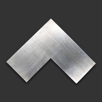 Marco artesano plata liso