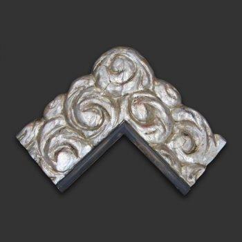 Marco artesano plata